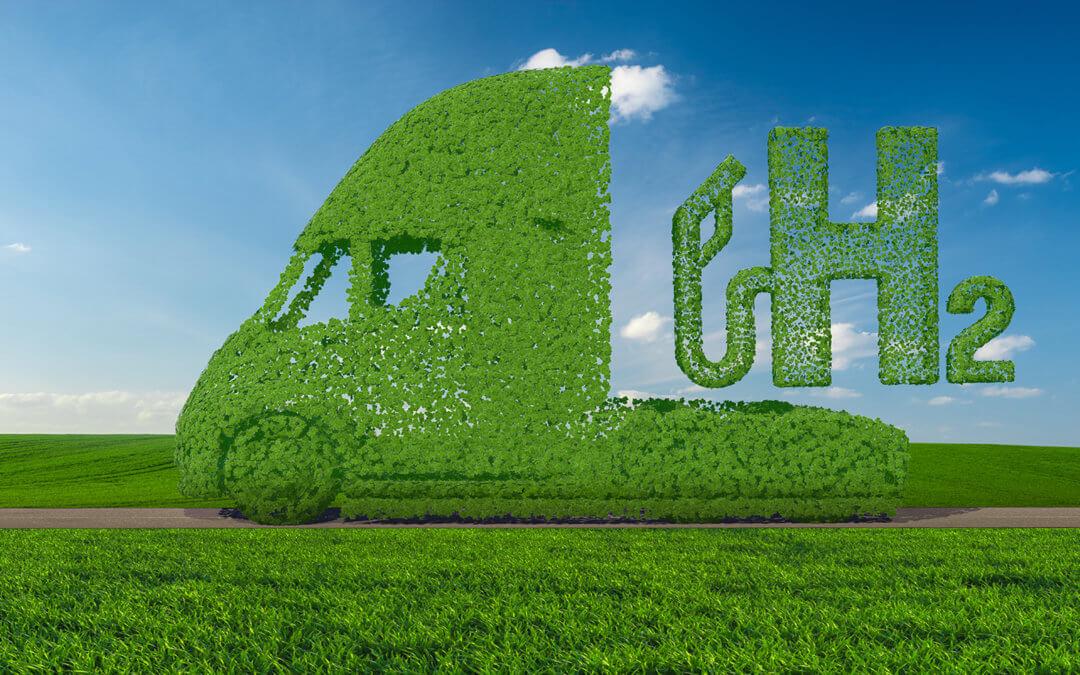 Green hydrogen propulsion in road transport