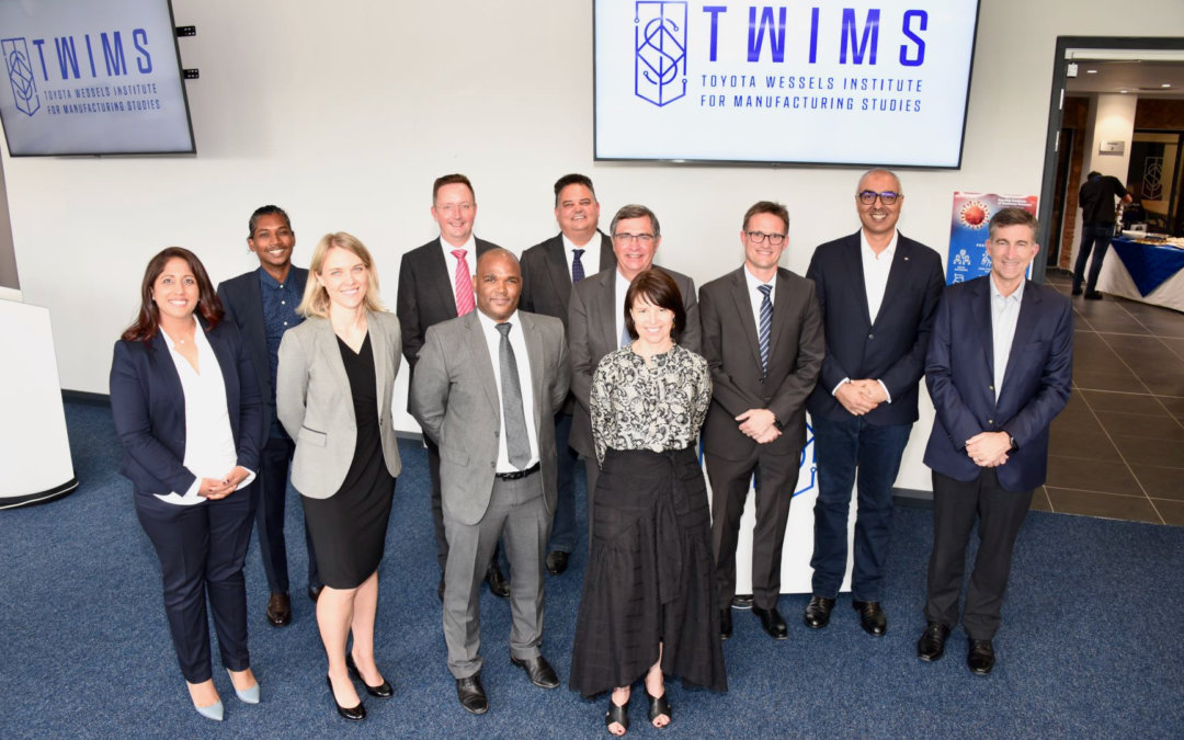 TWIMS receives multi-million rand investment for the advancement of manufacturing in SA and Africa