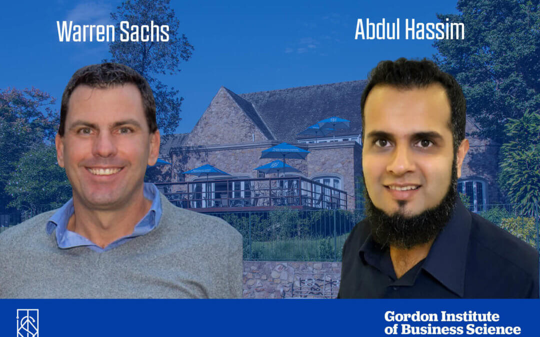 Celebrating TWIMS' Top Students: Abdul Hassim and Warren Sachs